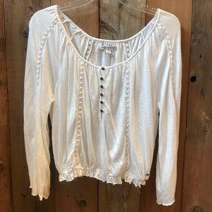 White American Eagle shirt